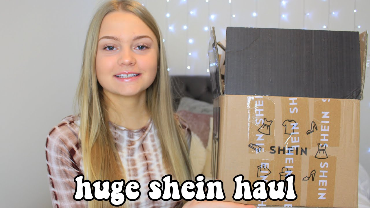 HUGE SHEIN TRY ON HAUL *trendy clothes*