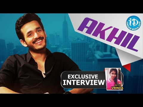 Akhil Akkineni Exclusive Interview || Talking Movies with iDream # 34