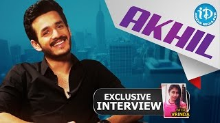 Akhil Akkineni Exclusive Interview || Talking M...