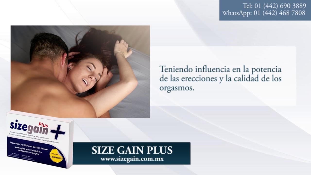 size gain plus farmacias ecuador