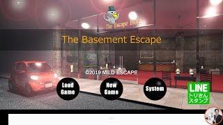 The Basement Escape 地下室からの脱出【MILD ESCAPE】 ( 攻略 /Walkthrough / 脫出)