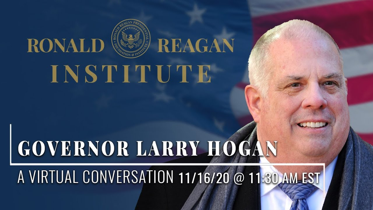 A CONVERSATION WITH GOVERNOR LARRY HOGAN