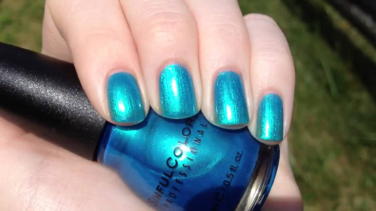 Sinful Colors Love Nails video swatch - YouTube