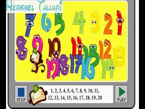 Nursery Rhymes Number song 2 - YouTube
