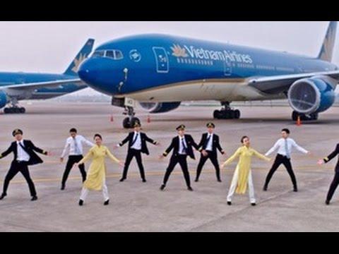 'Bống Bống Bang Bang' phiên bản tiếp viên, phi công Vietnam Airlines cực chất
