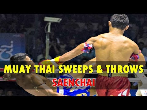 Saenchai's Sweeps and Throws