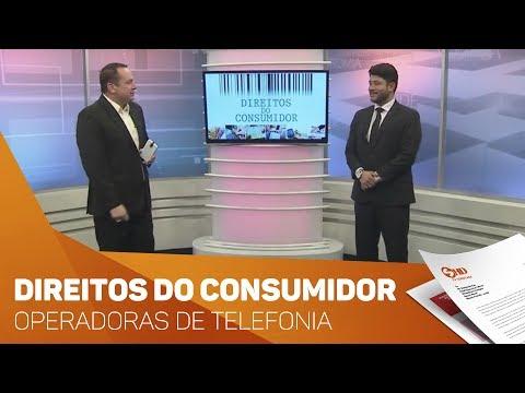 Quadro Direitos do Consumidor: Operadoras de telefonia  - TV SOROCABA/SBT