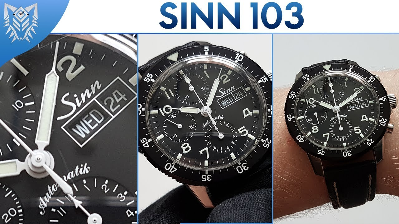 Sinn 103 ST Chronograph | Valjoux 7750 | Unboxing - YouTube