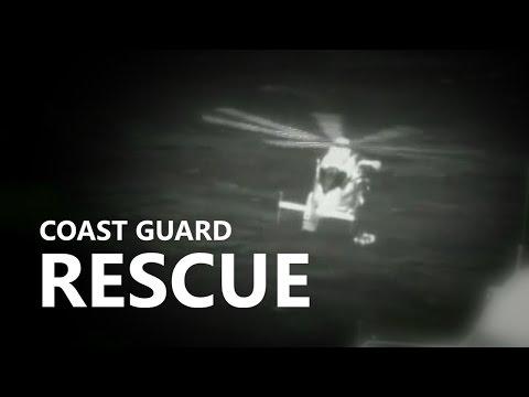 Coast Guard Airlifts Passenger From Cruise Ship Off Hawaii (May 2, 2017)