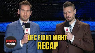 Gambar cover Dan Hooker beats Paul Felder in slugfest | UFC Fight Night Recap | ESPN MMA