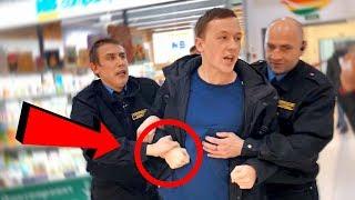Охрана унижает покупателя! ЖЕСТЬ!! / герасев ограбление магазина