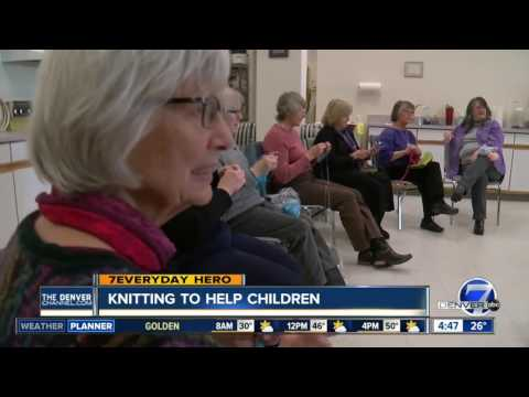 7Everyday Hero Roxana Bartlett leads a knitting group that helps children in Boulder