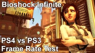 Bioshock Infinite PS4 vs PS3 Frame Rate Test