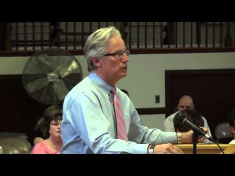 August 04, 2014, Part 3 of 5, North Smithfield Town Council Meeting