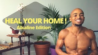 Heal your home l Minimalist Apartment Tour l Alkaline Edition!