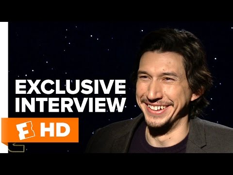 Star Wars: The Force Awakens - Exclusive Adam Driver Interview (2015) HD