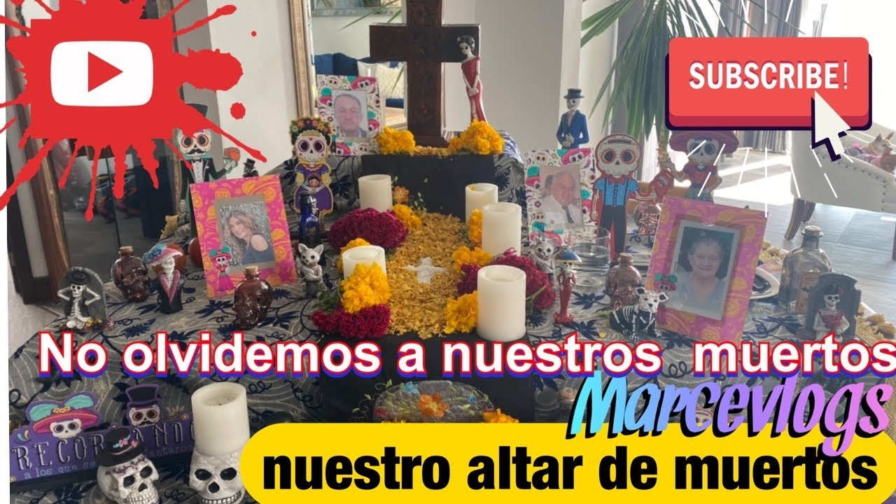 #chictv #diademuertos #altardemuertos #vlogs #grisaminah  #nancyrisol