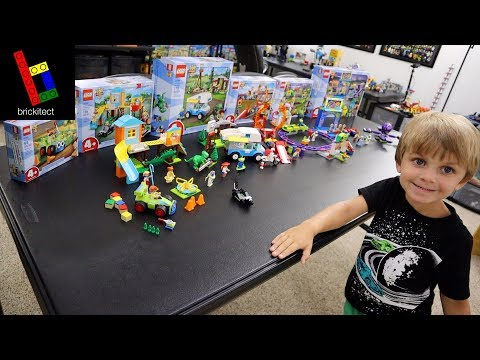 CLARK BUILT ALL THE LEGO TOY STORY 4 SETS!