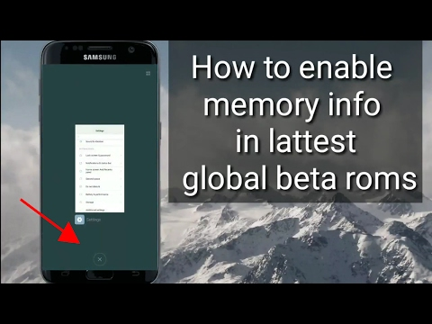 How to show recent apps memory info in lattest miui updates