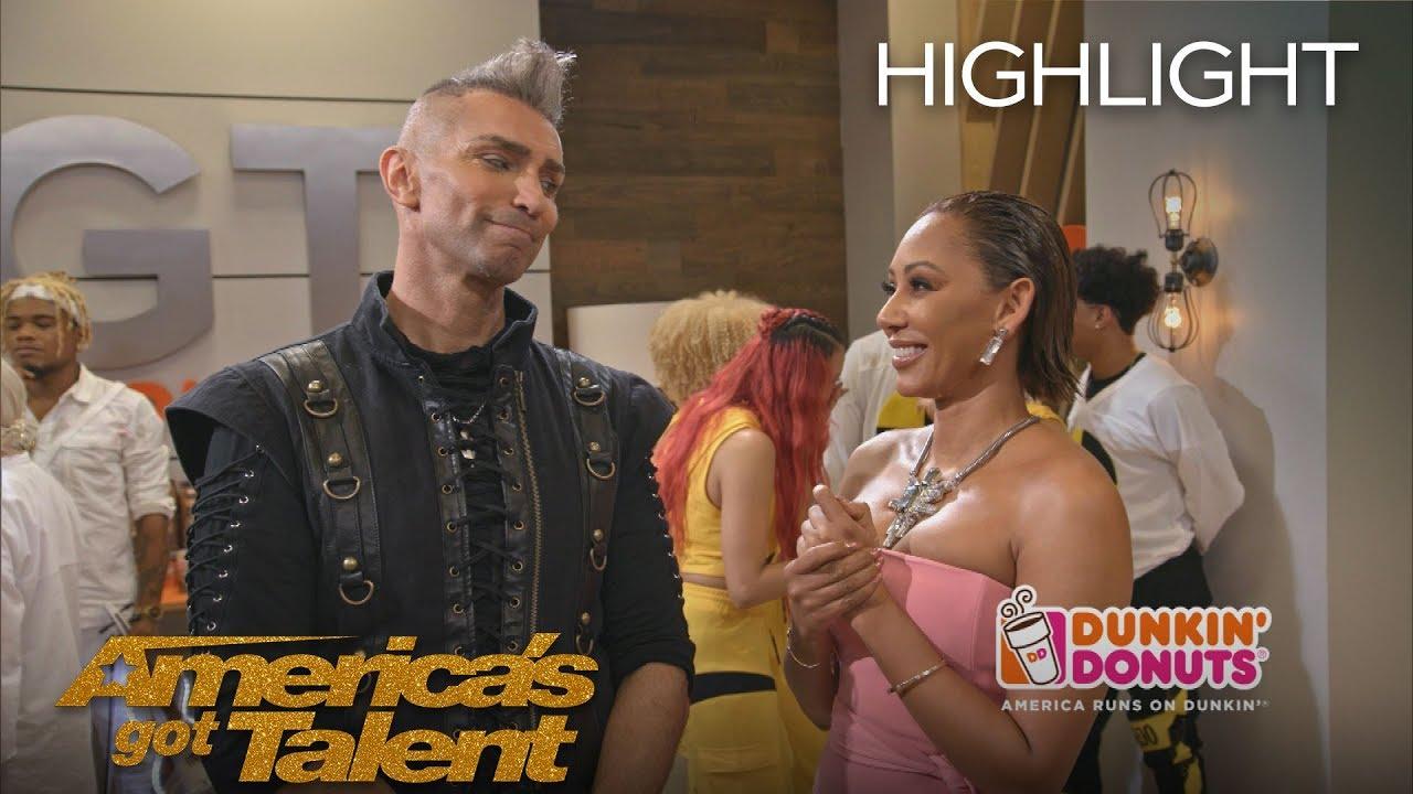 Dunkin' Lounge - Semi Finals Results 2 - America's Got Talent 2018
