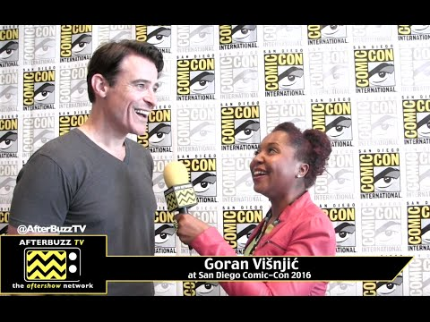 Goran Visnjic (Timeless) at San Diego Comic-Con 2016