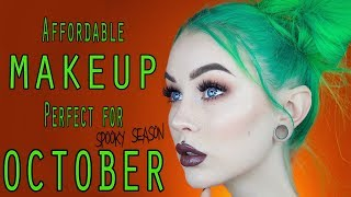 October Soft Grunge | Full Face of Nyx Professional Makeup  Evelina Forsell