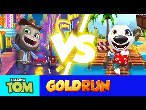 NEW in Talking Tom Gold Run - Las Vegas vs. Hawaii