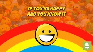 If You're Happy and You Know it | Free Karaoke Nursery Rhymes with Lyrics