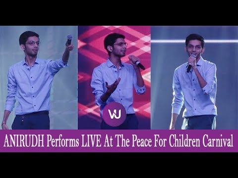 Watch How #Anirudh Enthralls The Gathering With His Peppy Number #Thangamey | #PeaceForChildren