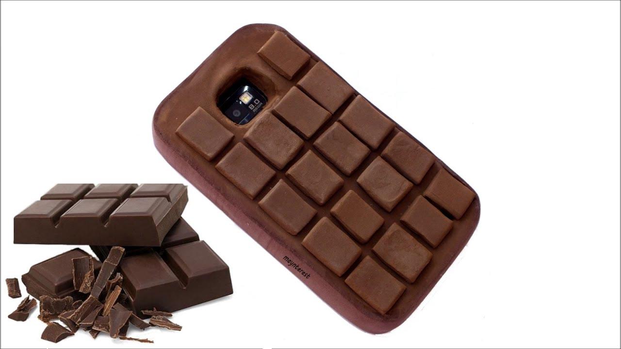 DIY Funda para móvil con forma de tableta de chocolate   Doovi - photo#19