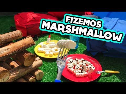 FIZEMOS MARSHMALLOW NO NOSSO QUINTAL! #ACasaDosFlop