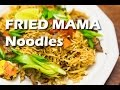 Khmer Style Fried Mama Noodles