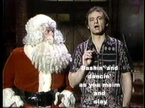 Bill Murray Christmas.Bill Murray Sings Kung Fu Christmas