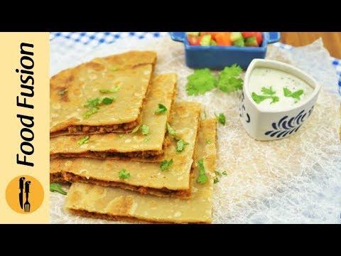 Spicy Keema Paratha Recipe By Food Fusion