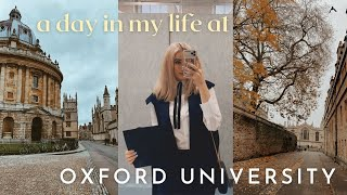 a day in tнe life of an OXFORD UNIVERSITY student