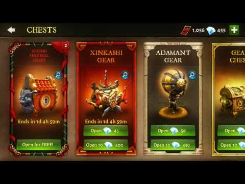 Dungeon Hunter 5 - Opening 4 SPRING FESTIVAL CHEST (guess What I Get?!)
