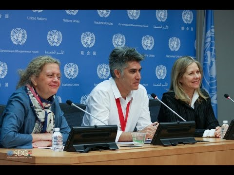 Press Conference with 2016 Pritzker Laureate Alejando Aravena hosted by the SDG Fund at the UN