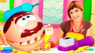 Веселая Школа с Машей Капуки Кануки Чистим зубы Видео для детей