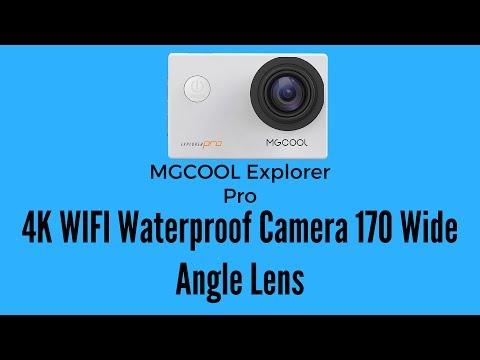 MGCOOL Explorer Pro 4K WIFI Waterproof Camera 170 Wide Angle