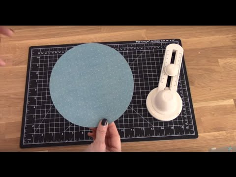 How to Use the Martha Stewart Large Circle Cutter