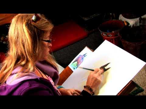 Willowmoor Art Workshop (Pet Portrait Horse) Michelle Martin Canal Artist