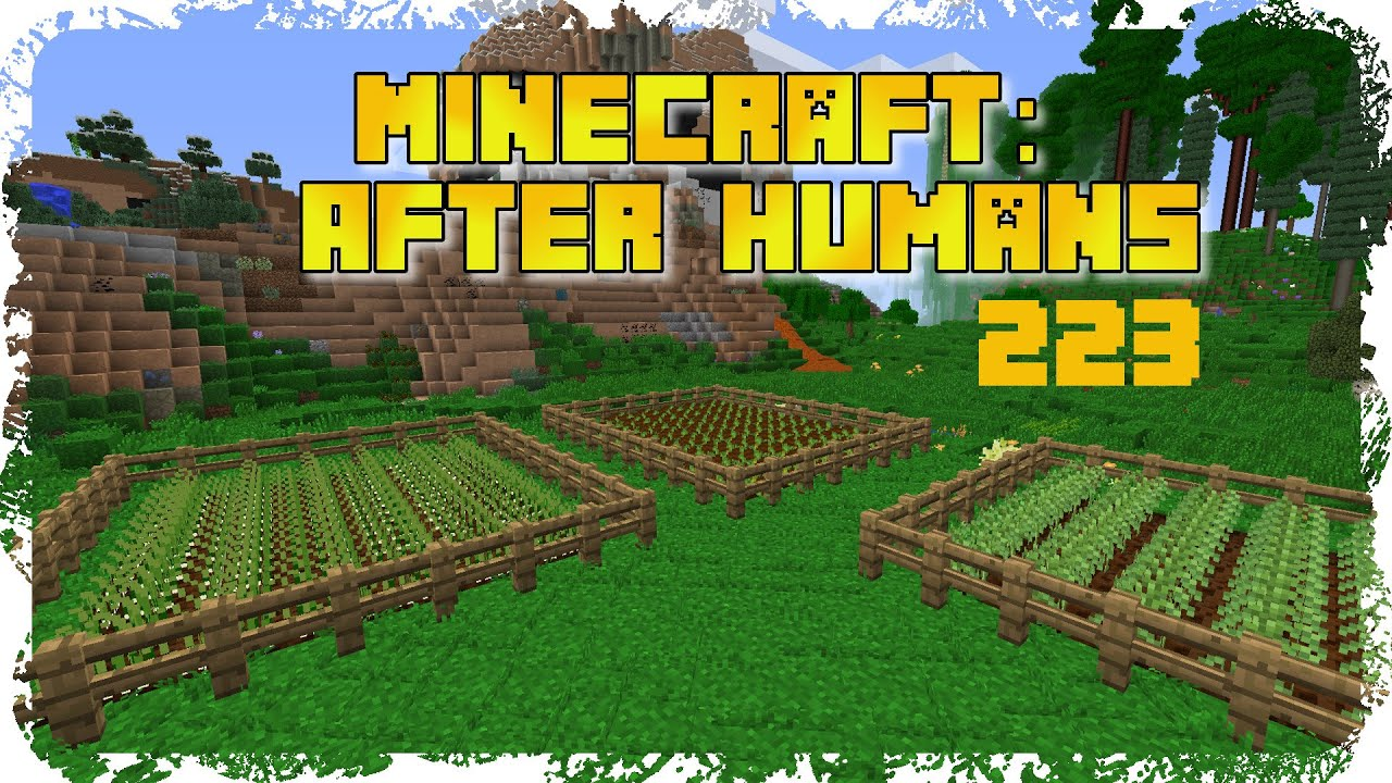 Garden Zaun Zaun Zaun Zaun Zaun Lets Play Minecraft After Humans