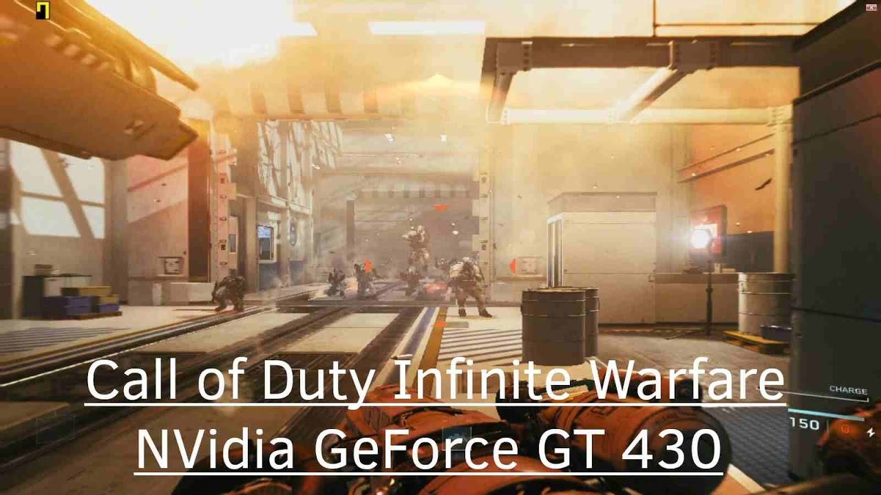 Top page gt gt infinite - Call Of Duty Infinite Warfare Nvidia Geforce Gt 430 Core 2 Duo E8400 2gb Ram Youtube
