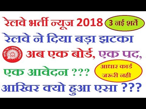 Railway Recruitment 2018 News Updates Group D and ALP    RRB Vacancy Chaenges