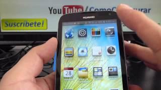 caracteristicas y especificaciones Huawei Ascend G610 comoconfigurar