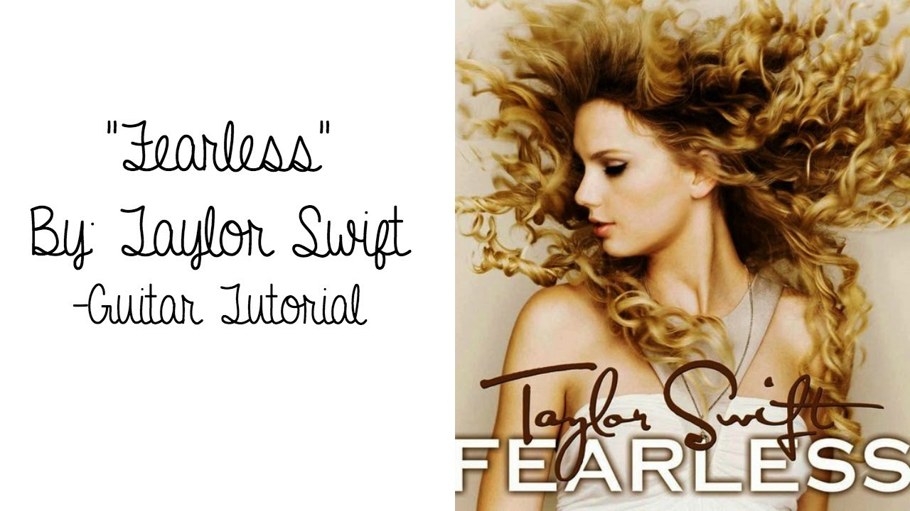 Fearless Taylor Swift Guitar Tutorial Youtube