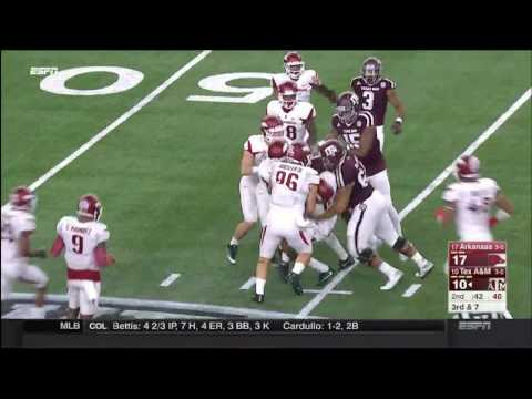 Texas A&M vs Arkansas Highlights 2016