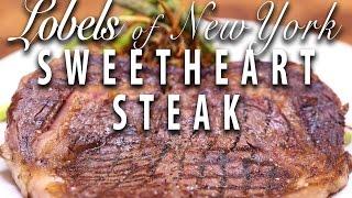 Lobels Sweet Heart Steak  - Big Meat Sunday