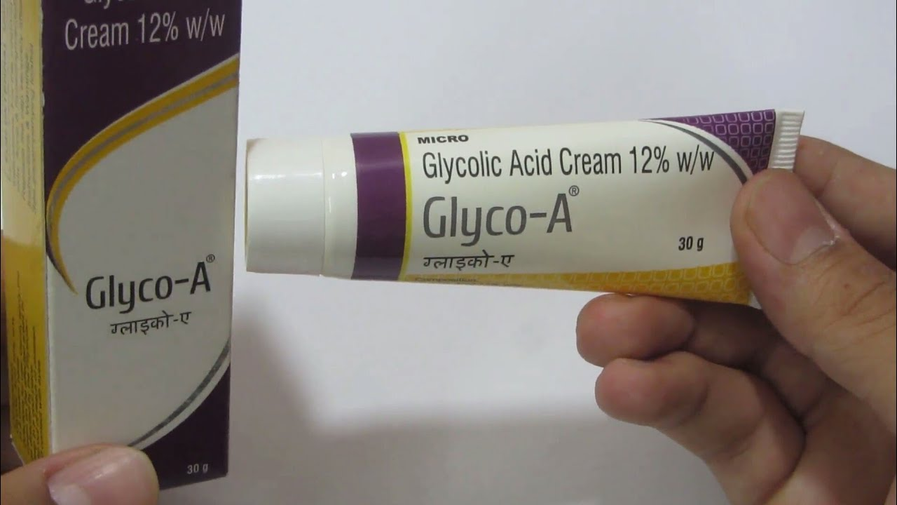 Glyco A Cream Glycolic Acid 12 For Acne Scar And Pimple Marks Review In Hindi 2017 Youtube