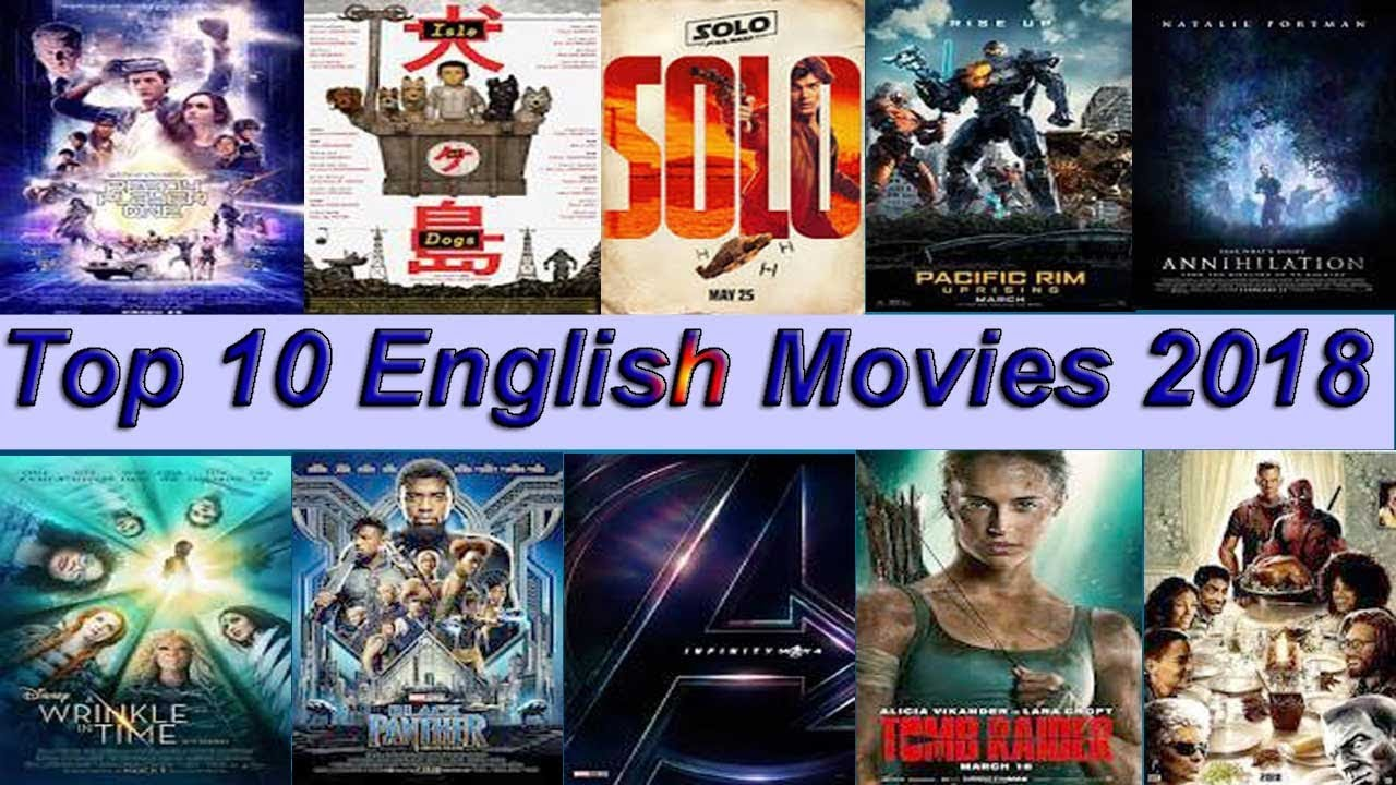 top rated english movies 2018